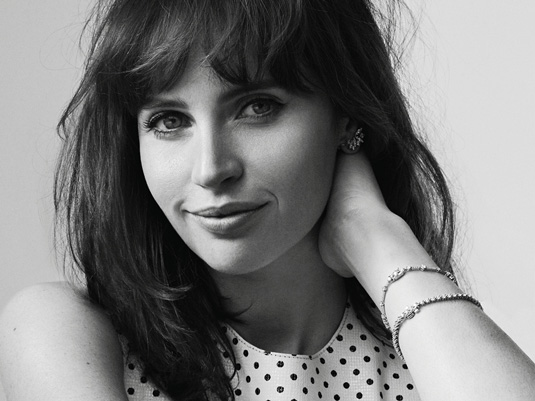 Elle Magazine Felicity Jones