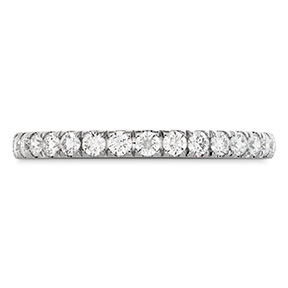 HOF Signature Bezel Basket Diamond Band