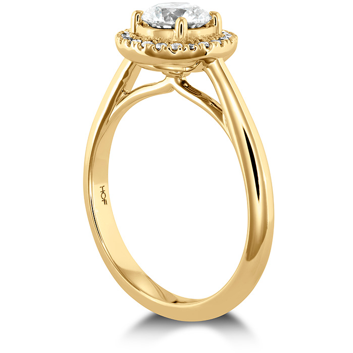 Destiny HOF Halo Engagement Ring