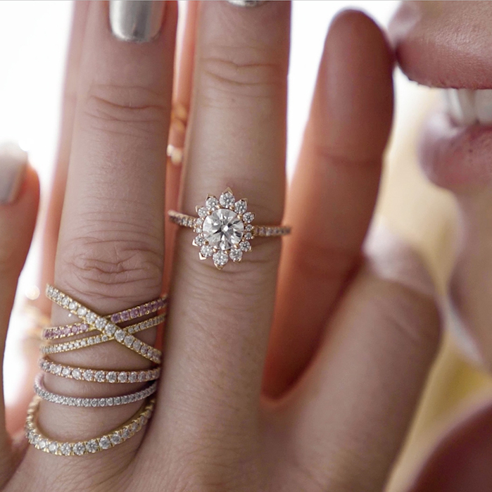 Behati Say It Your Way Oval Engagement Ring
