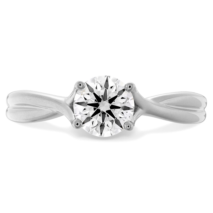 Simply Bridal Twist Solitaire Engagement Ring